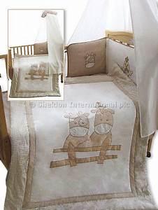Bettwäsche Set Baby : 3 teiliges baby bettw sche set kuh gro handel ~ Markanthonyermac.com Haus und Dekorationen