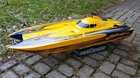 Toy Rc Fishing Jet Boat by 47 Quot Skater Rc Boat Custom R C Boats Pinterest