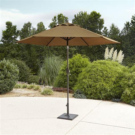 garden oasis emery 9 patio umbrella golden brown