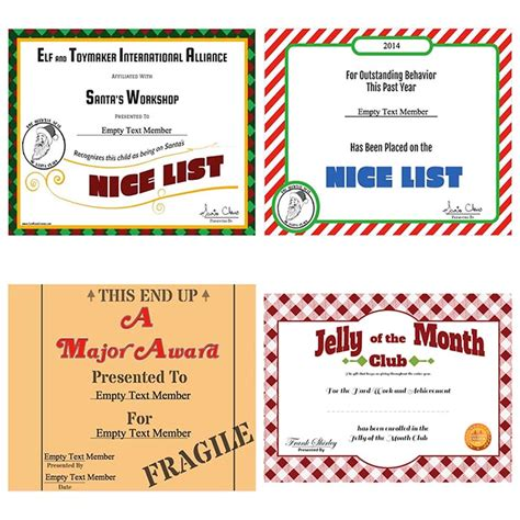 Christmas Tree Shop Brick Nj by Christmas Vacation Jelly Of The Month Club Certificate