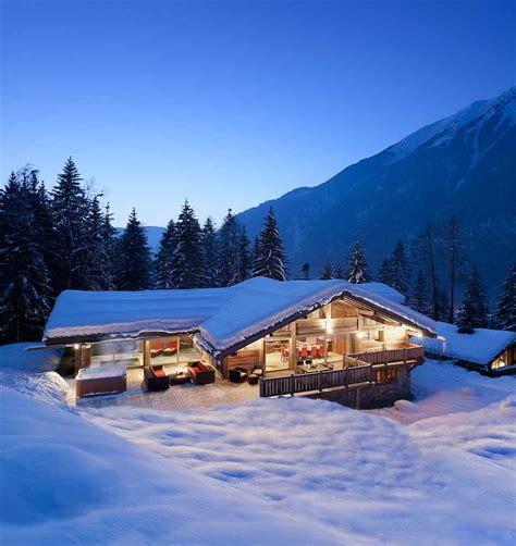 photo gallery alps luxury ski chalet with pool to rent chamonix