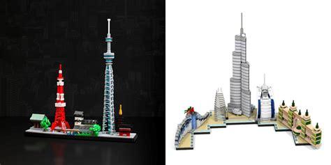 Custom Lego Architecture Skylines  Brick Architect