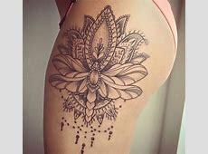 Tatouage Femme Fleur De Lotus Dotwork Sur Dos Tattoo Art