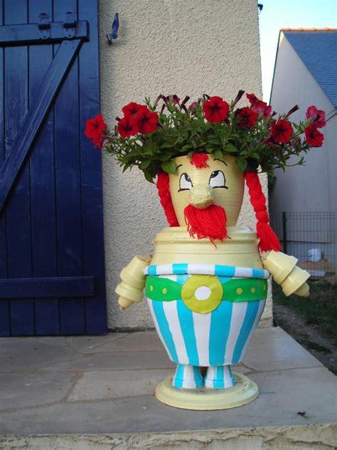 personnage ob 233 lix en pot de terre cr 233 ations personnage en pot de nat0112 n 176 40832 vue 4534 fois