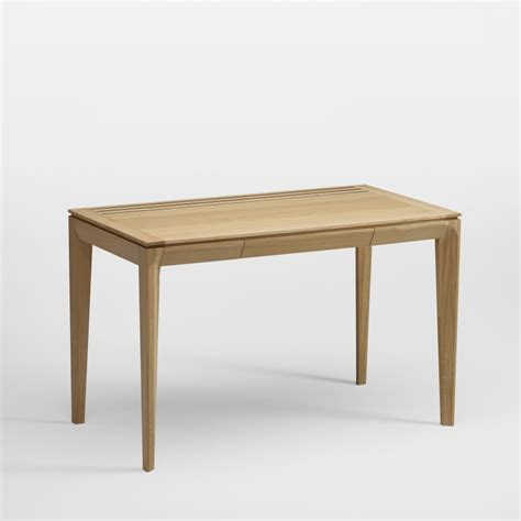 table de bureau design en bois massif buzz amobois