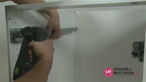 comment monter un tiroir coulissant de cuisine atelierdumenuisier