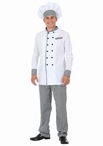 Adult's Plus Size Chef Costume 2X 3X