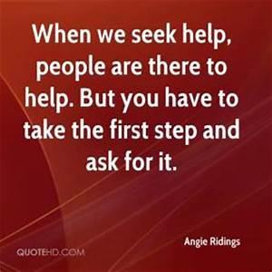 Seeking Help Quotes. QuotesGram