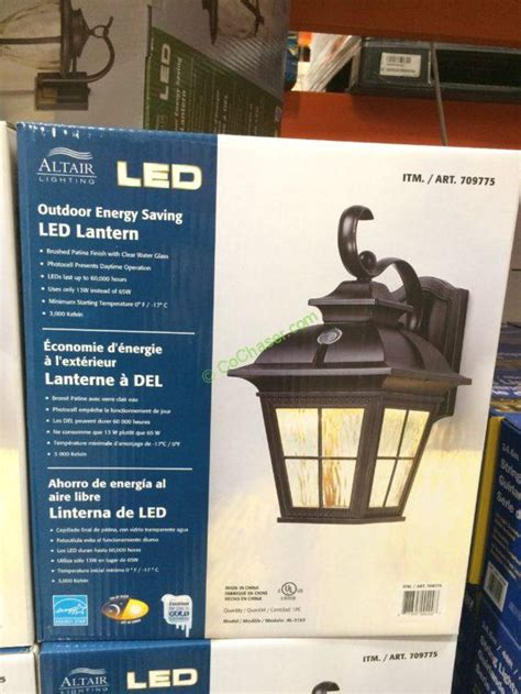 Costco 709775 Altair Outdoor Saving LE  Lantern box ? CostcoChaser