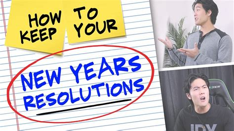 How To Keep Your New Years Resolutions! Doovi
