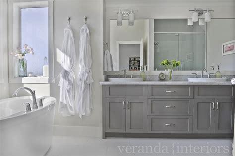Gray Cabinets-contemporary-bathroom-veranda Interiors