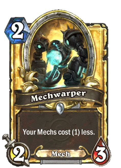 mech warrior s15 legend hearthstone decks