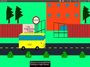 Graphics and Game Programming in OpenGL: Moving Bus ...