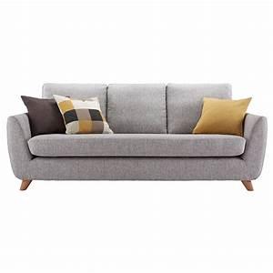 Big Sofa Vintage : g plan vintage the sixty seven large 3 seater sofa marl grey at john lewis ~ Markanthonyermac.com Haus und Dekorationen