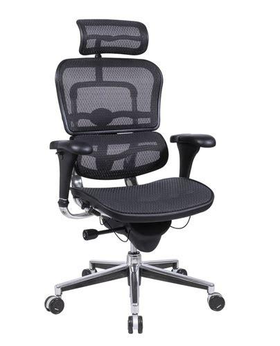 eurotech ergohuman me7erg mesh executive chair with headrest