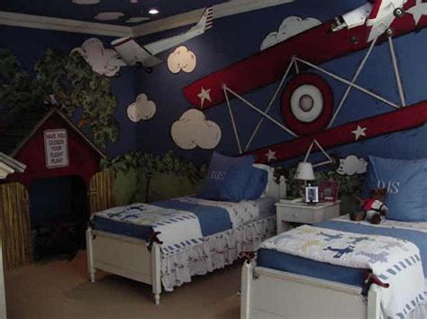 Cool Airplane Themed Bedroom Ideas For Boys-rilane