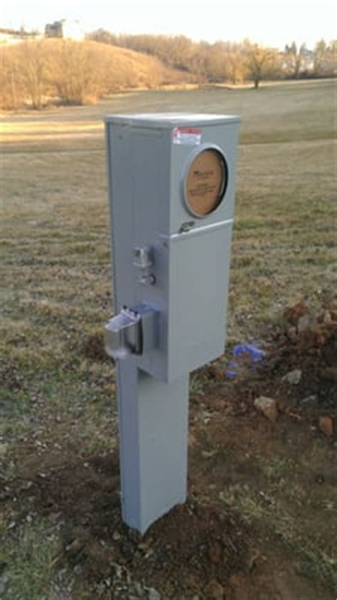 An Outdoor Pedestal Mounted 200 Amp Metered Service Yelp