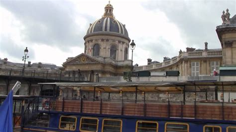 Boat Tour Youtube by Paris France Boat Tour Youtube
