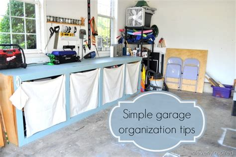 Inexpensive Tips To Organize The Garage
