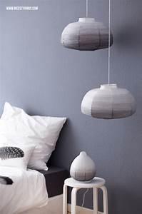 Dip Dye Selber Machen : diy ombre lampenschirm selber machen aus ikea papierlampe im dip dye look nicest things ~ Markanthonyermac.com Haus und Dekorationen