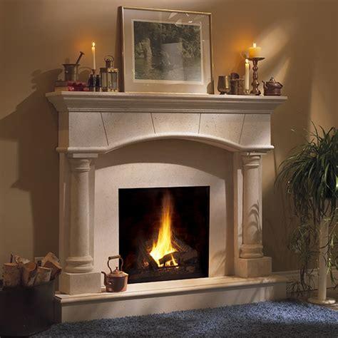 Barrington Classic Stone Fireplace Mantel Mantelsdirectcom