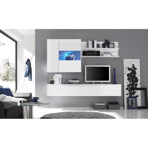 vitrine suspendue blanc ou noir design