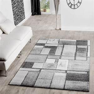 Teppich Wohnzimmer Grau : moderner teppich wohnzimmer velours teppiche gekachelt silber grau sale ebay ~ Markanthonyermac.com Haus und Dekorationen