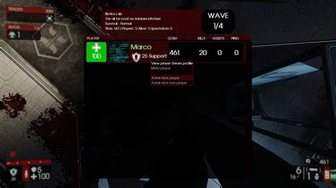 mutator server extension mod killing floor русский форум