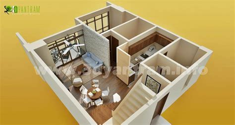tiny house floor plans small residential unit 3d floor 3d floor plan interactive 3d floor plans design