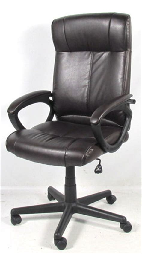 staples turcotte luxura high back managers chair brown