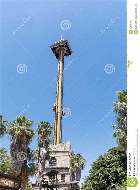 the hurakan condor ride in port aventura amusement park editorial stock photo image 68115398