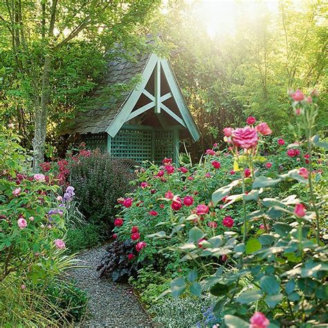 The Elements Of Cottage Garden Design  Better Homes & Gardens