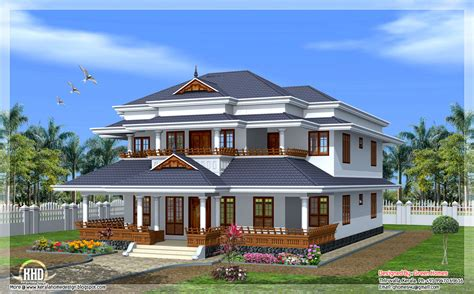 Home Design 02 : Traditional Kerala Style Home