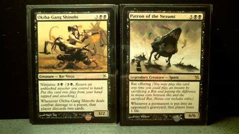 betrayers of kamigawa theme deck rat s nest magic