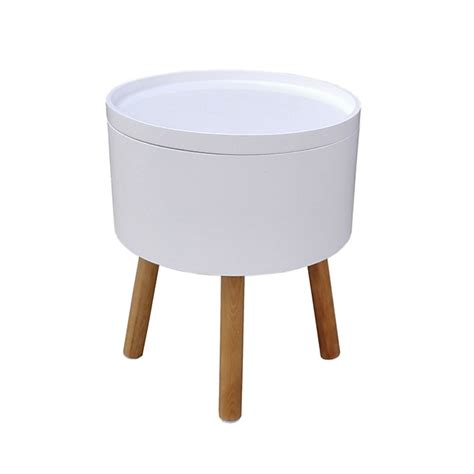bout de canap 233 blanc et 4 pieds pin massif cachou consoles tables chaises tables basses