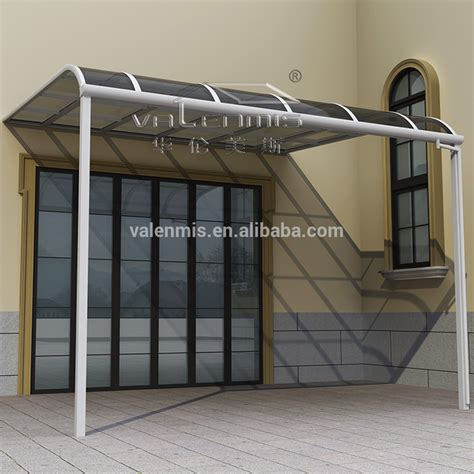 moderne aluminium pluie auvent prend en charge marquise de porte de fen 234 tre ou patio couvert
