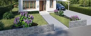 Carport Im Vorgarten : vorgarten bauen gestalten obi gartenplaner ~ Markanthonyermac.com Haus und Dekorationen