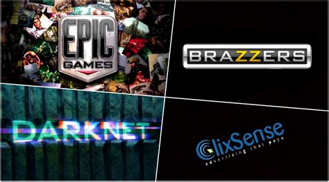 Hacked Brazzers, Epic Games, Clixsense Data Goes On Dark