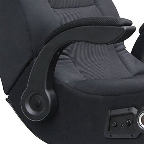 ace bayou ace bayou x rocker commander rocker chair with 2 1 wired audio system