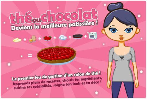 the ou chocolat le jeu en ligne de cuisine sucr 233 e
