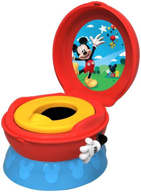 mickey mouse 3 in 1 celebration potty system potty