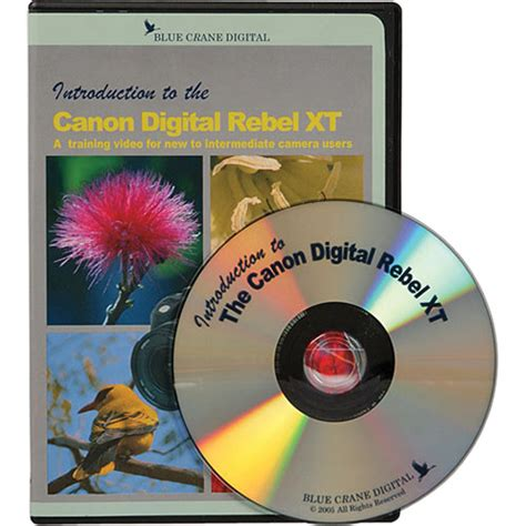 Blue Crane Digital Dvd Introduction To The Canon Digital Bc103