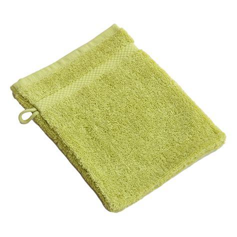 gant de toilette coton bio vert anis 233 acheter sur greenweez
