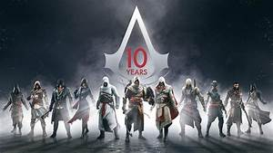 Assassins Creed 10 years, Assassin&s Creed, Ubisoft ...