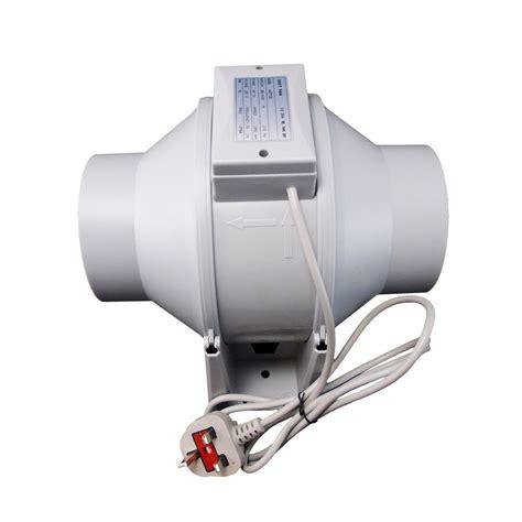 inline duct extractor fan bathroom shower hydroponic ventilation single speed ebay