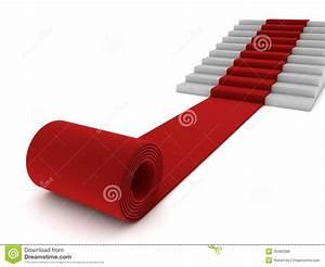 Roter Teppich Kaufen : rollender roter teppich und treppen stock abbildung bild 25480388 ~ Markanthonyermac.com Haus und Dekorationen