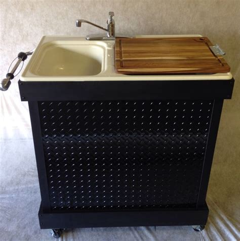 portable cing kitchen with sink portable kitchen sinks home sweet home portable kitchen