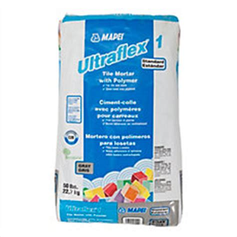 mapei ultraflex 1 gray mortar 50lb floor and decor