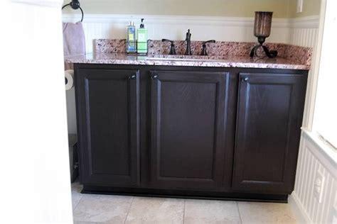 gel stain oak cabinets