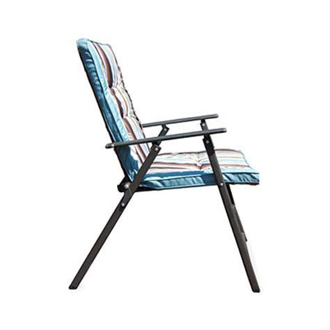 wilson fisher 174 stripe padded outdoor folding chair big